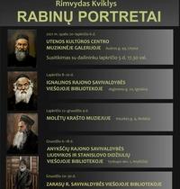 """Rimvydo Kviklio paroda """"Rabinų portretai"""""""