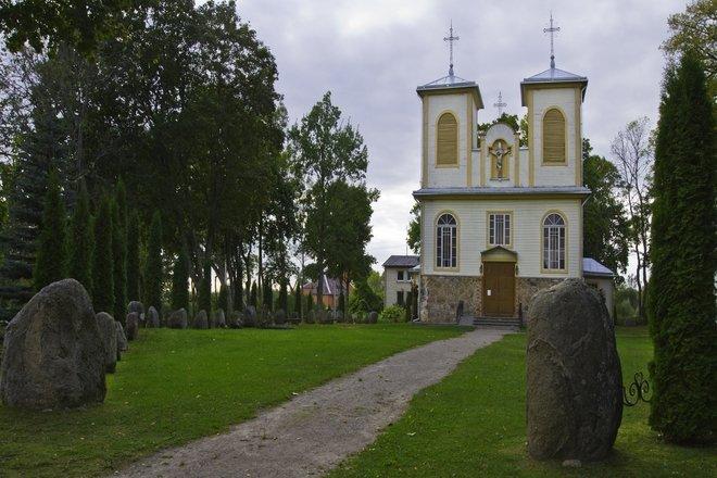 Saldutiškio Šv. Pranciškaus Asyžiečio bažnyčia