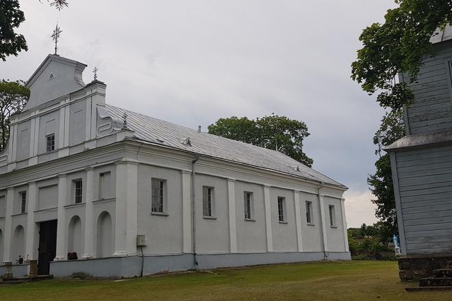 Sudeikių Švč. Mergelės Marijos bažnyčia