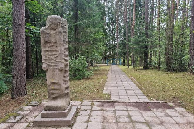 Žydų genocido kapai Skaistašilio miške