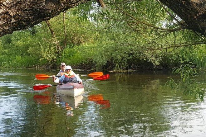 """Baidarėmis Šventosios upe Utenos rajone """"Gamtos paveldas iš vandens"""""""