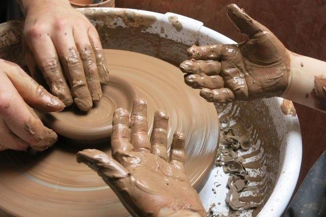 Keramikos paslaptys Giedriaus Mazūro keramikos studijoje