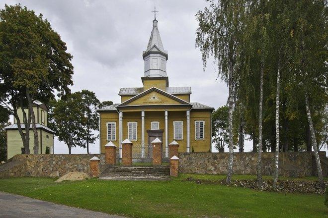 Kuktiškių Šv. Jono Krikštytojo bažnyčia