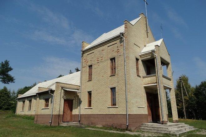 Tauragnų Šv. Jurgio bažnyčia