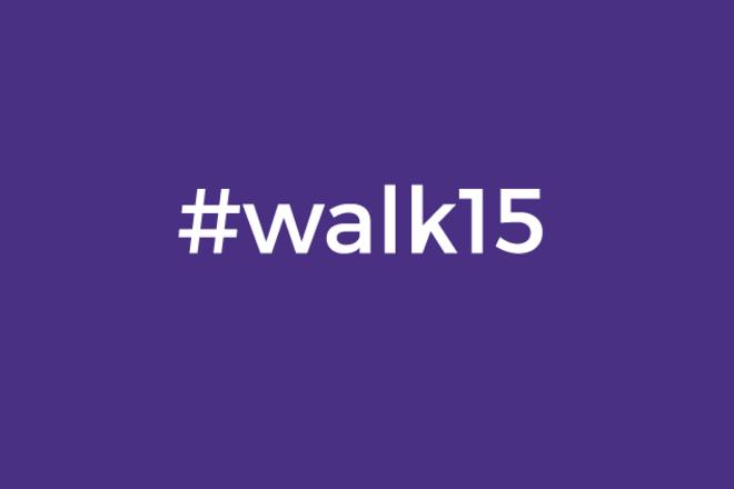 """#walk15 """"Laimingų žmonių trasa"""""""