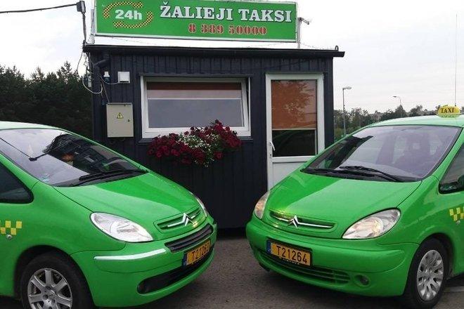 Žalieji taksi